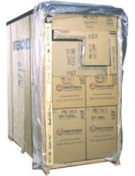 International Shipping Pallet Liftvan
