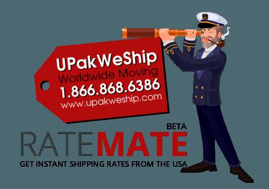 UPakWeShip Rate Mate