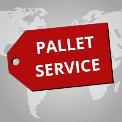 UPakWeShip Pallet International Shipping Service