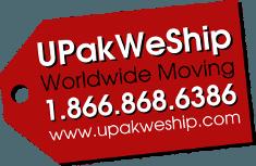 UPakWeShip Responsive Logo