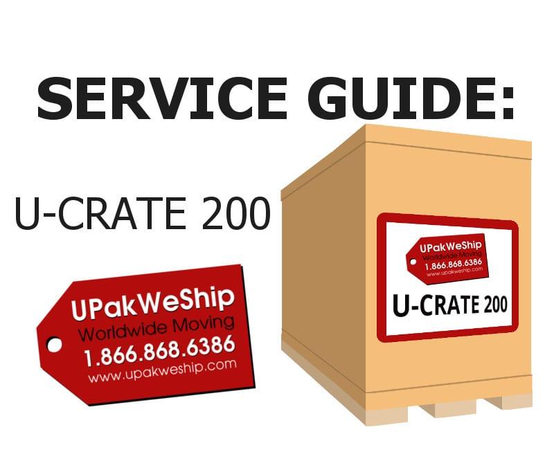 U-CRATE 200 Service Guide