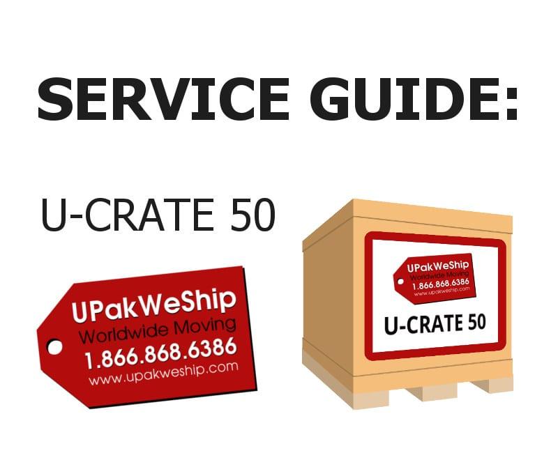 U-CRATE 50 Service Guide