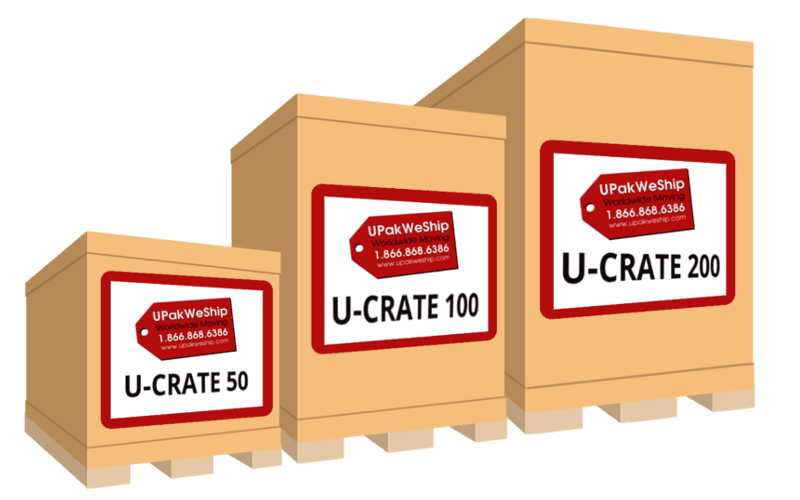 U-CRATE Moving Group UPakWeShip