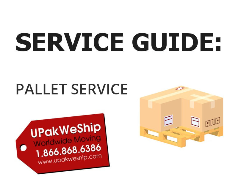 Pallet Shipping Service Guide Page