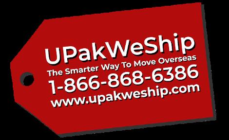 UPakWeShip International Moving Company
