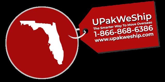 International Shipping From Florida With UPakWeShip