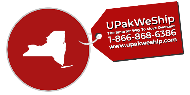 International Shipping From New York With UPakWeShip